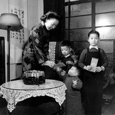 "1946 - a community celebrates the Lunar New Year. ""All that can be gleaned from these photos lives within these details, as they were never published in LIFE, and no notes remain to put names to faces or even identify the locale where they were shot. The photographer, George Lacks, spent much of his career in Shanghai, but traveled widely throughout China during his years stationed abroad."" 10 more in the series at click."