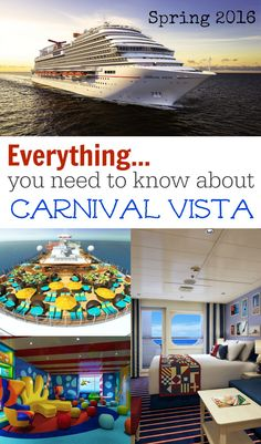 By now you've seen the photos and heard at least some of the news about Carnival Cruise Line's newest (and largest!) ship, Carnival Vista, set to debut in spring 2016...