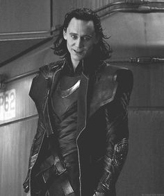 "Tom Hiddleston ""Loki"" ""The Avengers"" <<< He's like ""Oh, dear, you think this seriously? Really?"""