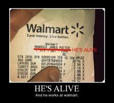 james potter, harry potters dad, wal mart funny pictures
