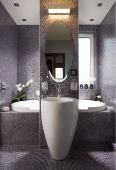 Beautiful bathroom design idea: