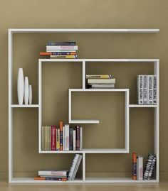 Continuous square Bookshelf
