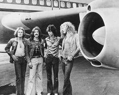 Led Zeppelin looking every so 1970s #rocker.