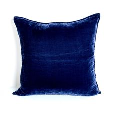 blue silk velvet cushions - Google Search Velvet Cushions, Beauty Bar, Home Look, Cushion Covers, Best Sellers, Favorite Color, Throw Pillows, Silk, Luxury