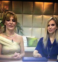 Letizia La Mela  italian expert jewelry designer  Italian TV