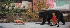 New Photorealistic Urban Paintings by Kevin Peterson | Inspiration Grid | Design Inspiration