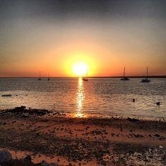 Praia da Ilha do Farol, Faro @ritasouto via Instagram