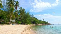 Haad Son aka Secret Beach, one of the most beautiful beaches of Koh Phangan