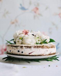 "My Happy Dish: Gluten-Free ""Any-Fruit"" Cake with Mascarpone Filling by Sylwia Kotlarz"