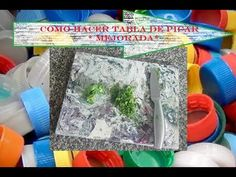 fundir y hacer tabla de picar con tapitas plásticas*mejorada* - YouTube Channel, Youtube, Ideas, Make Charts, Bricks, Upcycling, Thoughts, Youtubers, Youtube Movies