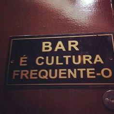 Os bares da vida....