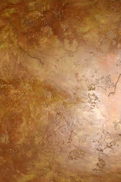 Beautiful Gold Leaf Ceiling My Distressed Gold Inlay