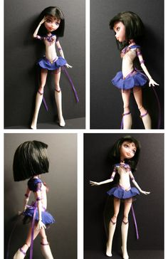 Custom Sailor Saturn Doll by Azure-and-Copper on deviantART