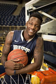 Talib Zanna, Pitt basketball forward - Pittsburgh Magazine - February 2013 *Photo by Renee Rosensteel