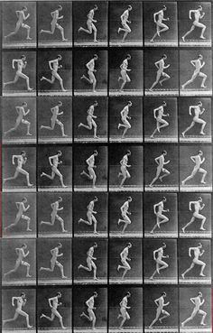 -Eadweard Muybridge- Foi o primeiro a utilizar a fotografia de modo a mostrar o movimento. Figure Reference, Animation Reference, Body Reference, Anatomy Reference, Drawing Reference, Movement Photography, History Of Photography, Art Photography, Eadweard Muybridge