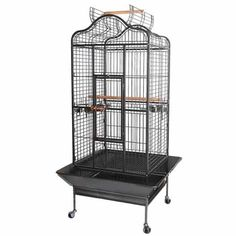32x30x61 Large Parrot Bird Cages House Open Playtop Dome Top Black Vein >>> Check this awesome product by going to the link at the image.Note:It is affiliate link to Amazon.
