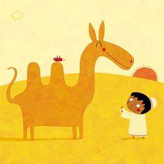 The Boy and The Camel by Nicolas Gouny
