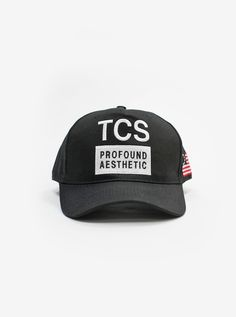67672eb7be340 Chainsmokers x Profound Snapback Hat in Black