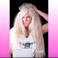 rock that crown @Chandra Blankenship you are a super star and we LOVE that you Love So Lucky To B Me Tees...xoA