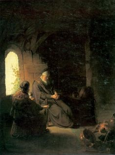 Christ Driving the Moneychangers from the Temple, 1626 - Rembrandt - WikiArt.org
