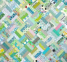 triple rail fence quilt