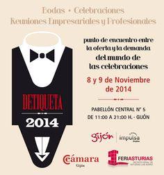 Este mes Gijón celebra la feria #detiqueta. Visita @feriaasturias para conocer todo sobre tu boda! @MiBodaApp