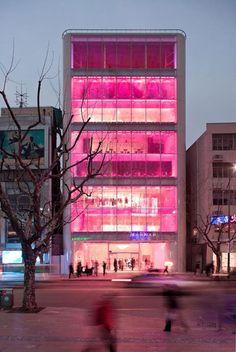 pink architecture - Buscar con Google
