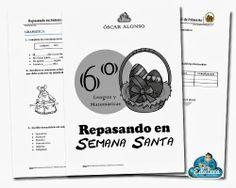 RECURSOS PRIMARIA | Ejercicios para repasar en Semana Santa de 6º de Primaria (Lengua y Matemáticas) ~ La Eduteca