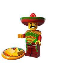Lego Minifigures Series Movie - Taco Tuesday Guy