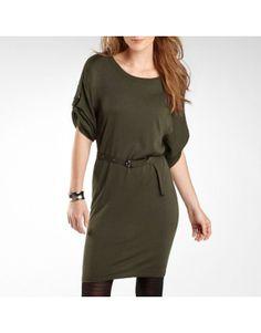 Women's a.n.a Belted Sweater Dress w/... $12!