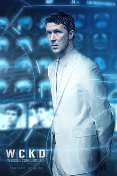 Aidan Gillen as Janson (rat man) The Scorch Trials (the maze runner)<<<<<<HE DOES NOT EVEN LOOK LIKE RAT MAN