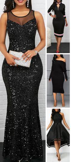 Shop black Dresses online,Dresses with cheap wholesale price,shipping to worldwide Modest Dresses, Elegant Dresses, Pretty Dresses, Beautiful Dresses, Maxi Dresses, African Fashion Dresses, African Dress, Fashion Outfits, Dress Outfits