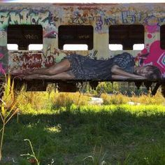 Train to nowhere... 2015 © Victoriano