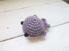 Mini crochet whale mini crochet animal crochet by SixthandDurian