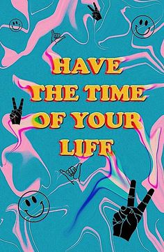 GOOISCH ⍟ quotes ⍟ inspiratie ⍟ have the time of your life ⍟ wallpaper ⍟ background ⍟ positive vibes ⍟ note to self Bedroom Wall Collage, Photo Wall Collage, Photo Collages, Retro Wallpaper, Aesthetic Iphone Wallpaper, Room Posters, Poster Wall, Life Poster, Images Murales