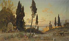 Hermann_Corrodi_-_Vista_sul_Bosforo,_Costantinopoli.jpg (4000×2407)