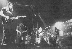 "Pink Floyd performing on stage, Pavillon de Paris, France, February 1977, European Animals ""In The Flesh"" Tour '77"