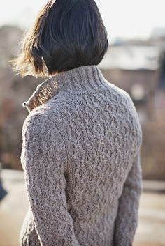 Ash cardigan from Brooklyn Tweed