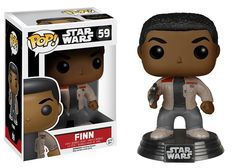 Star Wars: Episode VII Pop!s are coming to stores just in-time for The Force Awakens! A trained warrior desperate to escape his past, Finn is plunged into adventure as his conscience drives him down a