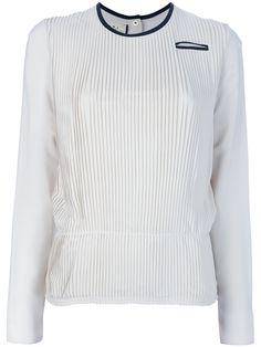 pleated layer blouse   marni