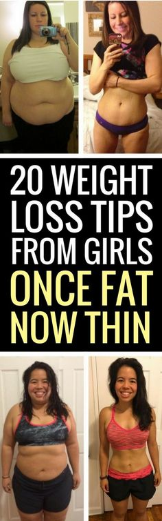 20 weight loss tips from women who have lost a ton of weight.