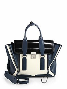 3.1 Phillip Lim Pashli Medium Colorblock Satchel.  Swoon worthy colorblock bag that will never go out of style.