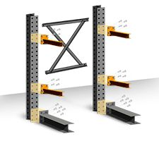 Structural Cantilever Racking Starter Kits  - everything you need in a easy to assemble kit
