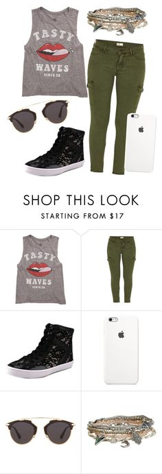 """Tasty Waves"" by eemaj ❤ liked on Polyvore featuring moda, Billabong, Mother, Rebecca Minkoff, Christian Dior, Aéropostale, women's clothing, women, female e woman"
