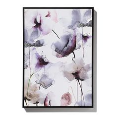 Wild Flowers Canvas Ink/Verbena Small