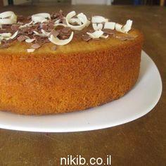 עוגת וניל קינמון עוגה מעולה רכה וטעימה לשבת, ברגע שמכינים מתמכרים שווה