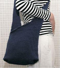 Crochet Market Bag, Crochet Purses, Crochet Fashion, Diy And Crafts, Knit Crochet, Socks, Sewing, Knitting, Lady