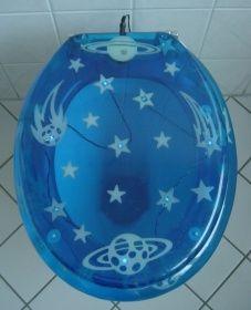 ADOB LED WC Sitz Galaxy, beleuchteter Design WC Sitz | ADOB-Online Shop