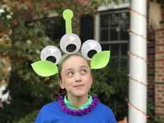How to Make a DIY Toy Story Alien Costume #ToyStoryLand #DisneySMMC