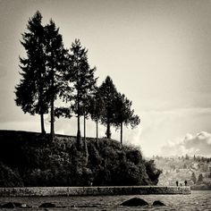 Vancouver, the sea wall at Stanley Park Stanley Park, Image Archive, Vancouver, Sea, Spaces, Sunset, Awesome, Wall, Pictures